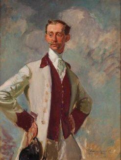 Prince Philippe de Caraman-Chimay (portrait study) | Jacques Emile Blanche | Oil Painting