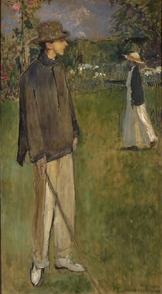 Full-Length Portrait of Jean Cocteau | Jacques Emile Blanche | Oil Painting