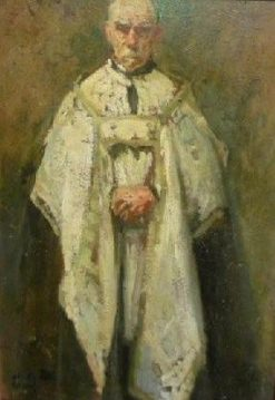 A Priest | Jacques Emile Blanche | Oil Painting