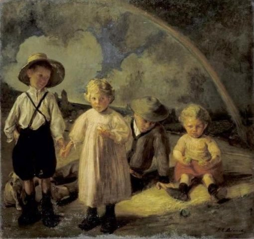 Children of Gatekeeper Sevain | Jacques Emile Blanche | Oil Painting