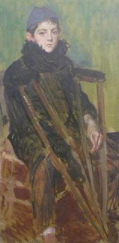 Maurice Felatre of Offranville   Jacques Emile Blanche   Oil Painting
