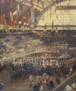 The Coronation: A Military Tournament at Olympia | Jacques Emile Blanche | Oil Painting
