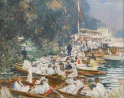 Henley Regatta | Jacques Emile Blanche | Oil Painting