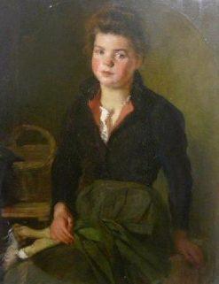 Marguerite Mutel | Jacques Emile Blanche | Oil Painting