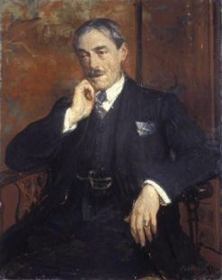 Portrait of Paul Valéry | Jacques Emile Blanche | Oil Painting