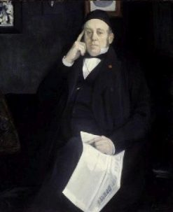 The Artist's Father | Jacques Emile Blanche | Oil Painting