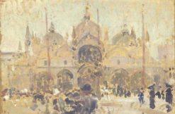 Venice: San Marco | Jacques Emile Blanche | Oil Painting
