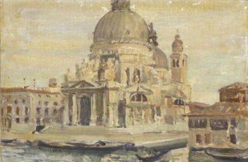 Venice: La Salute | Jacques Emile Blanche | Oil Painting