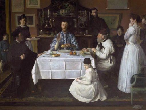 L'Hôte | Jacques Emile Blanche | Oil Painting