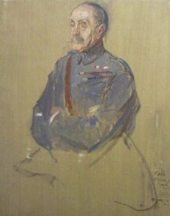 Second Study for the Portrait of Marshal Foch | Jacques Emile Blanche | Oil Painting