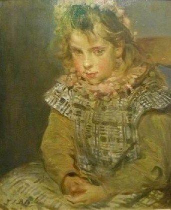 Célestine Picquet | Jacques Emile Blanche | Oil Painting
