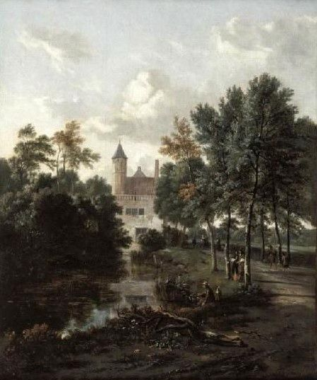 Dutch Landscape | Jan Wijnants | Oil Painting