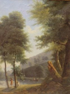 Paysage idyllique | Jean Victor Bertin | Oil Painting