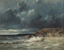 Marine Landscape | Jules DuprE | Oil Painting