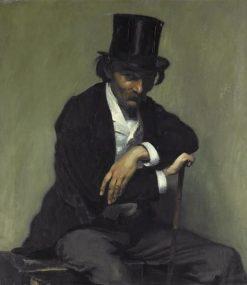 Portrait de Paul Napoleon Roinard | Louis Emile Anquetin | Oil Painting