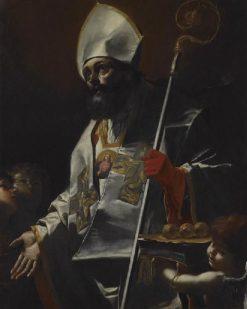 Saint Nicolas de Bari | Mattia Preti | Oil Painting