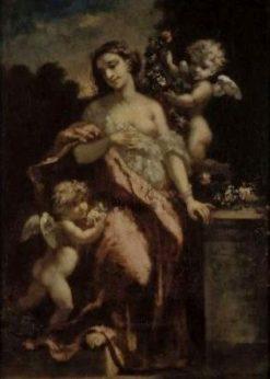 Femme et deux amours | Narcisse Dìaz de la Peña | Oil Painting