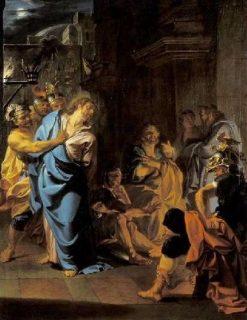 The Betrayal of Saint Peter | Noel Nicolas Coypel III | Oil Painting