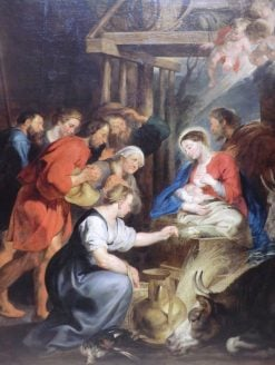 The Adoration of the Shepherds | Peter Paul Rubens | Oil Painting