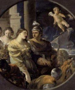 Les adieu de Didon et Enee | Sebastien Bourdon | Oil Painting