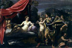 Mars and Venus   Sisto Badalocchio   Oil Painting
