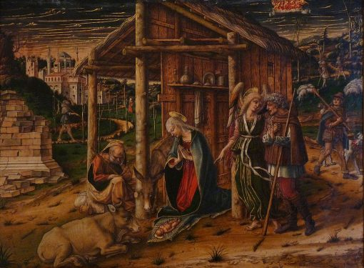 Adoration of the Shepherds | Carlo Crivelli | Oil Painting