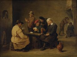 Card Players | David Teniers II | Oil Painting