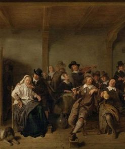 Joyeuse compagnie (Merrymaking) | Jan Miense Molenaer | Oil Painting