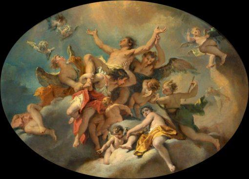 Apotheosis of Saint Sebastian | Sebastiano Ricci | Oil Painting