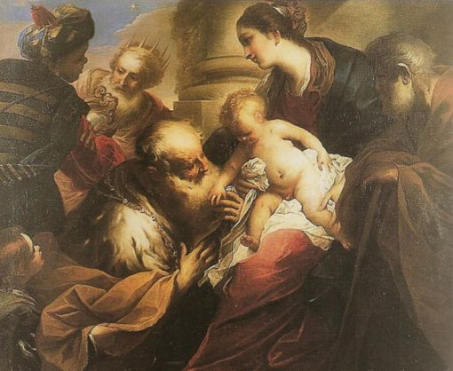 The Adoration of the Magi | Valerio Castello | Oil Painting