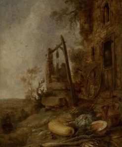 The Old Well   Willem Kalf   Oil Painting