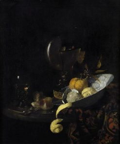 Still Life with Nautilus Shell | Willem Kalf | Oil Painting