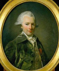 Antoine Marie Du Cluzel | Henri Pierre Danloux | Oil Painting