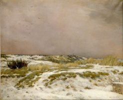 Le degel (The Thaw) | Jean Charles Cazin | Oil Painting