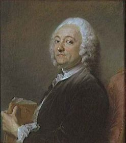 Portrait of Painter Hubert Drouais | Jean Baptiste Perronneau | Oil Painting