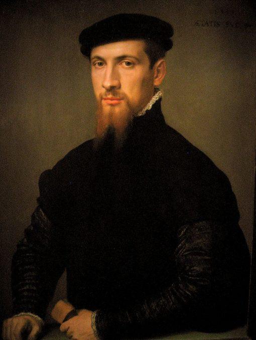 Portrait of Simon Renard de Bermont | Anthonis Mor | Oil Painting