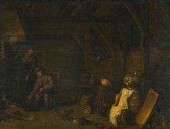 Kitchen Interior | Willem Kalf | Oil Painting