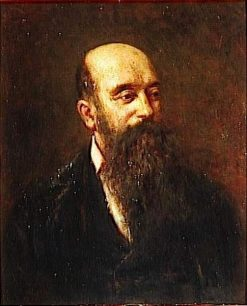 Self-Portrait | Adolphe Joseph Thomas Monticelli | Oil Painting