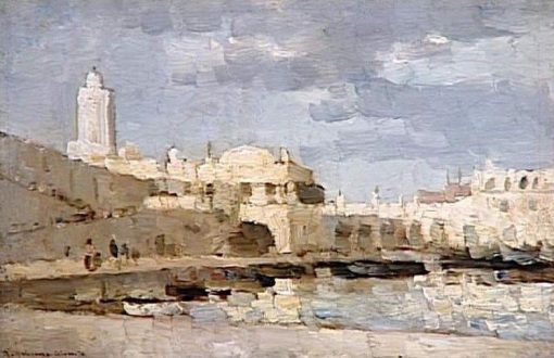 The Port of Algiers | Albert Lebourg | Oil Painting