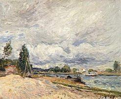 Les bords du Loing ou de la Seine | Alfred Sisley | Oil Painting