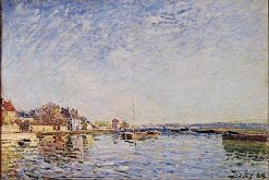 Canal du Loing | Alfred Sisley | Oil Painting