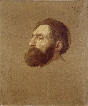 Portrait of Auguste Rodin | Alphonse Legros | Oil Painting