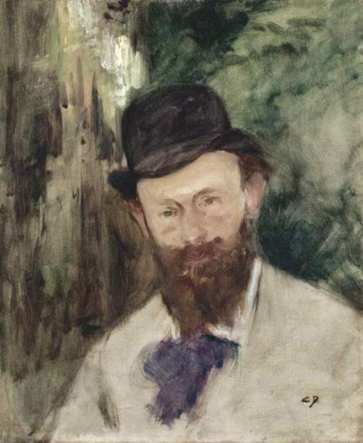 Portrait of Edouard Manet | Charles Auguste Emile Durand | Oil Painting