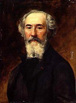 Portrait of Emmanuel Lansler | Charles Auguste Emile Durand | Oil Painting