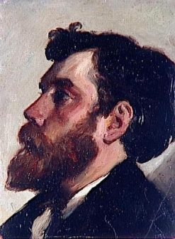 Head of a Bearded Man | Charles Auguste Emile Durand | Oil Painting