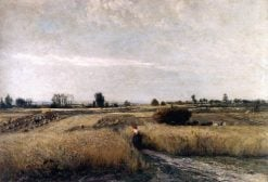 Harvest Time | Charles Francois Daubigny | Oil Painting