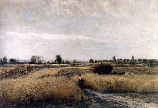 Harvest Time | Charles Francois Daubigny | Oil Painting
