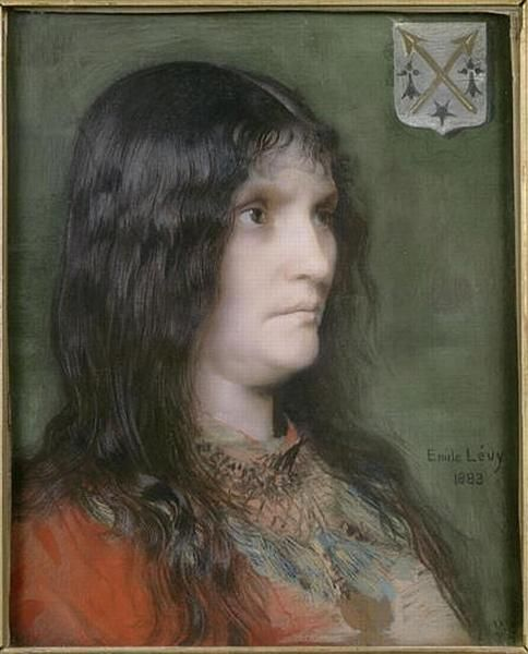 Portrait de Madame Lévy | Emile LEvy | Oil Painting
