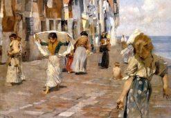 Chioggia | Ettore Tito | Oil Painting
