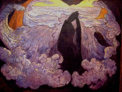 The Violet Wave | Georges Lacombe | Oil Painting